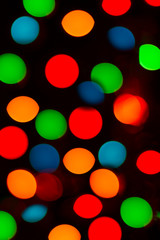 Backround, bokeh with colorful spots