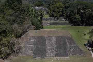 Mayan Temple in Xunantunich
