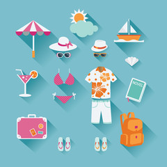 Travel Icon : Summer