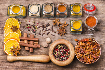 spices still life