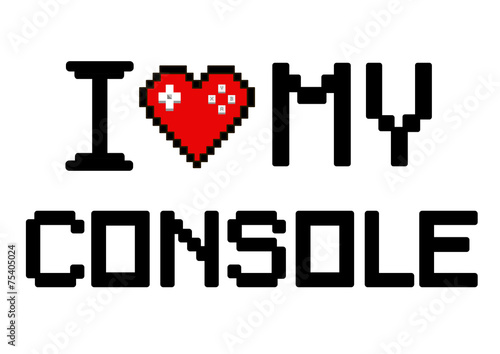 i love my console\