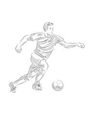 Soccer player a