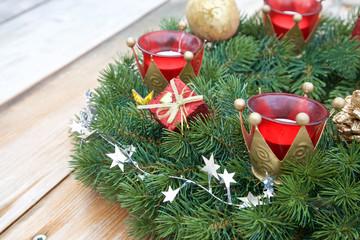 Weihnachtlicher Kranz II