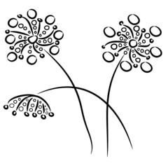 Blumen abstrakt