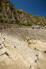 Ancient lycian Myra ruins at Turkey Demre