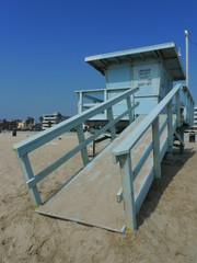 Lifeguard Station Venice beach Los Angeles