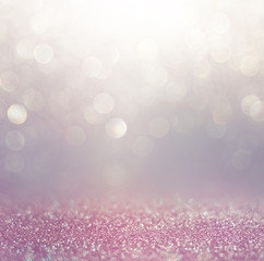 bokeh lights background with mixed brown and yellow warm earthly