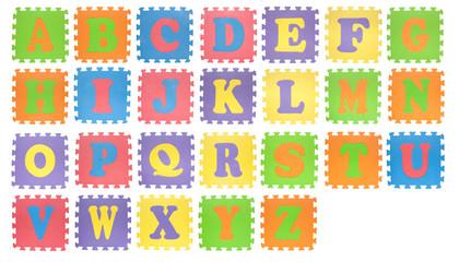 Toy alphabet A to Z
