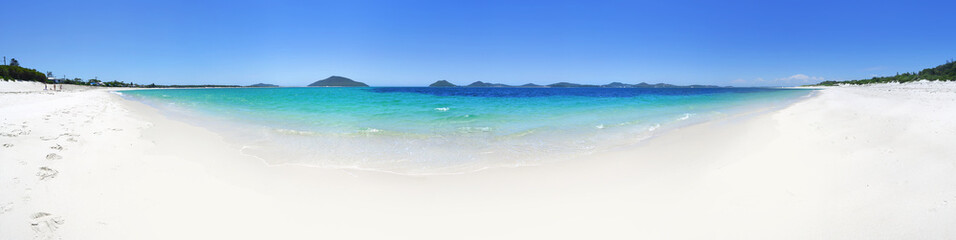 Printed kitchen splashbacks Australia 180 panoramic views from Jimmys Beach Port Stephens