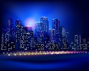 City skyline. Vector illustration