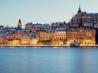 Stockholm Sodermalm and Riddarfjarden.