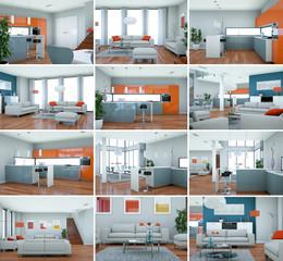 Bildersammlung - Loft Interior Design