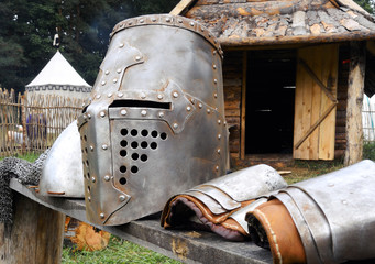 metal Middle Ages armor