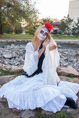 Girl Santa Muerte
