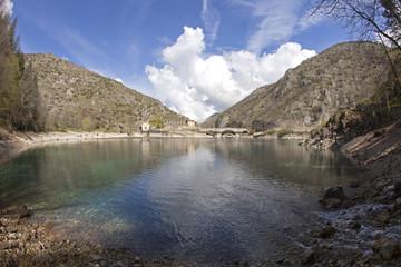 Lago di San Domenico,a Villalago Aquila.
