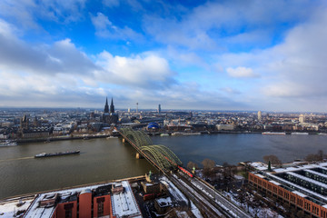 Cologne city view