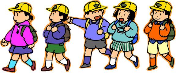 Kids go to school