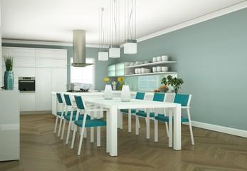 mooderne Wohnung Interieur Design