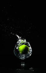 Water splash lime