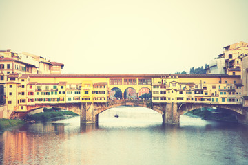 Wall Mural - Ponte Vecchio bridge