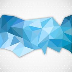 Polygonal abstract line
