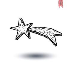 stars icon Isolated. Vector illustration.