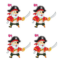 Old Pirate Idle Sprite