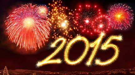2015 fireworks card