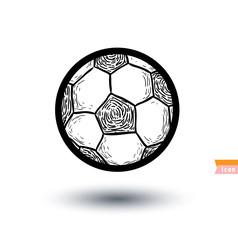 Soccer Football icon, vector illustration.