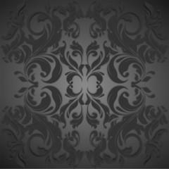 Black vintage luxurious background