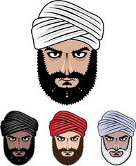 Arab Muslim vector