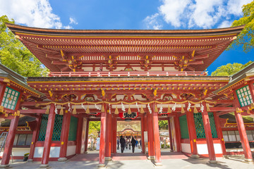 Poster Tokyo Dazaifu shrine in Fukuoka, Japan