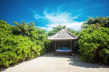 Tropical place for massage