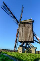 Windmill, Schietsjampettermolen, Wannegem, Belgium
