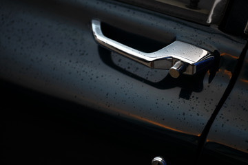 Vintage car door handle