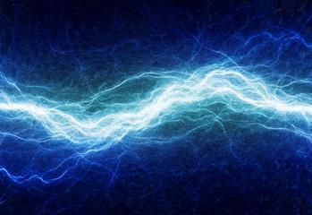 Blue electric lighting