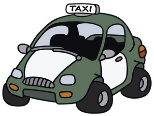 Funny taxi  - not a real model