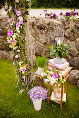 wedding decor marriage decoration flowers rustic