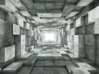 Fototapeta end of the tunnel obraz