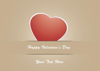Stampa Biglietto Auguri Happy Valentine's Day