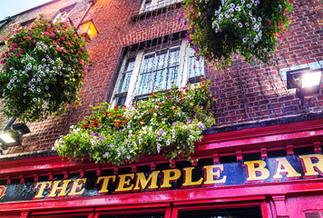 The Temple Bar – Dublin Irleand