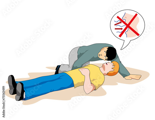 First aid - Recovery position - NHSUK