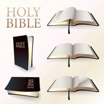 Illustration of Holy Bible