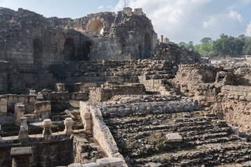 Beit She'an theater from back side