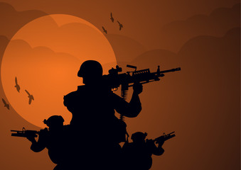 Navy Seal Silhouette