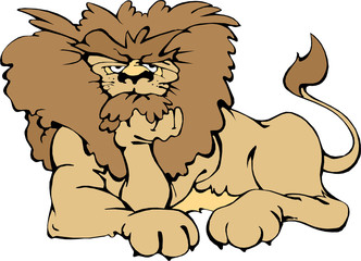 Cute Animal (Lion 2)