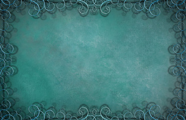 Textured Background with Flourishes