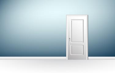 porta chiusa, porta, stanza