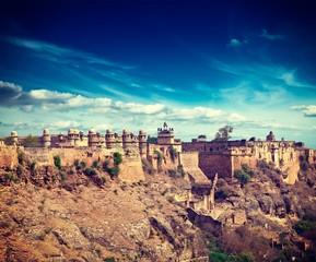 Photo sur Plexiglas Fortification Gwalior fort