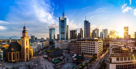 Aerial view of Frankfurt